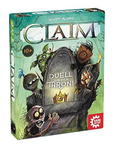 Claim, Das Duell um den Thron, Kartenspiel, Stichspiel, für 2 Spieler