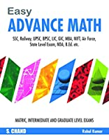 Easy Advance Math (Easy Competition Series)