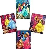 Disney Princess Two Pocket Portfolio Folders - Set of 4