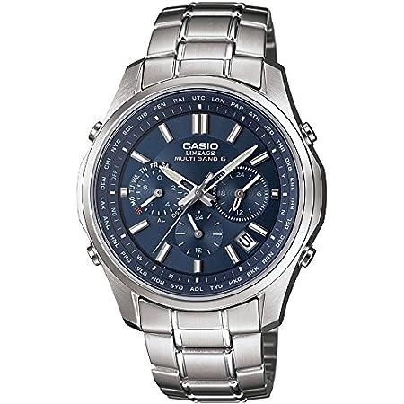 [カシオ] 腕時計 リニエージ 電波ソーラー LIW-M610D-2AJF シルバー
