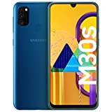 Samsung Galaxy M30s Blue Smartphone - SIM Free Mobile Phone [Amazon Exclusive]