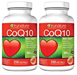 TruNature Coenzyme CoQ10 100 mg 2-Pack (250 Softgels Each)
