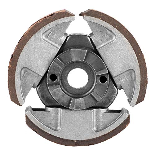 Changor Suitable Alloy Clutch Pad, Aluminum Alloy with Aluminum Alloy Bicycle Clutches Engine Clutch Pad for Motorcycle