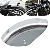 DSLK Moto Metallo Parafango Posteriore Parafango Breve Tratto Pianeggiante Mudflap Fit for Harley Sportster 48 72 XL 883 1200 Bobber Chopper Cafe Racer Modelle, Moto Parafango