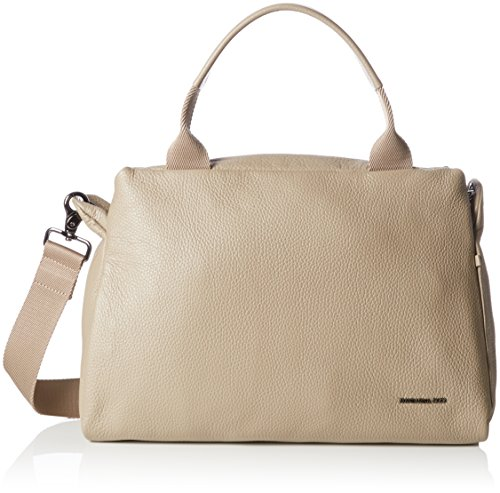 Mandarina Duck - Mellow Leather Tracolla, Shoppers y bolsos de hombro Mujer, Gris (Simply Taupe), 10x25x35 cm (B x H T)