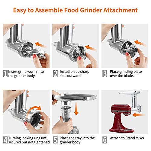 Gdrtwwh Food Grinder Attachment-KA