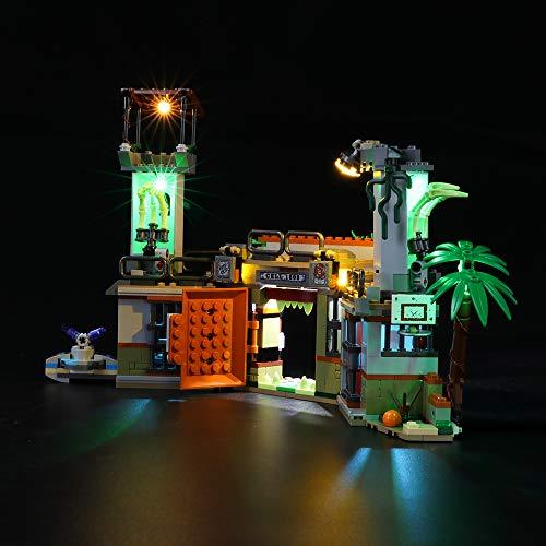 BRIKSMAX Kit de Iluminación Led para Newbury Abandoned Prison,Compatible con Ladrillos de Construcción Lego Modelo 70435, Juego de Legos no Incluido
