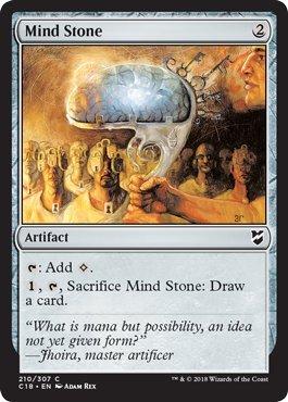 Magic: The Gathering - Mind Stone - Commander 2018