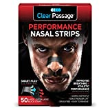 Best Nasal Strips - Clear Passage Performance Nasal Strips for Athletes, Black Review