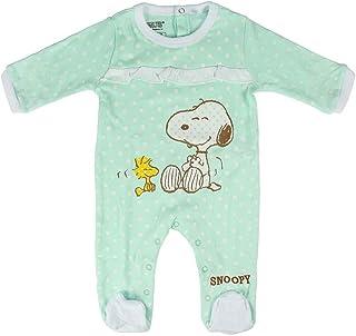 Artesania Baby-Mädchen Pelele Snoopy Strampler