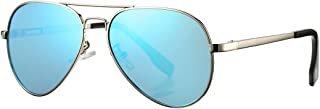 Polarized Aviator Sunglasses for Small Face Women Men Juniors UV400 Protection - Sizes from Kids to Adults …
