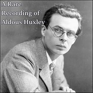 A Rare Recording of Aldous Huxley audiobook cover art