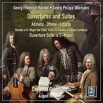Handel & Telemann: Ouvertures & Suites