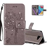 HMTECHUS Galaxy A7 2016 case A710 case 3D Crystal Embossed Love...