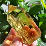 ABCBCA 70g 1pcs Natural Ahumado Cuarzo Citrino Varita de Cristal Punto