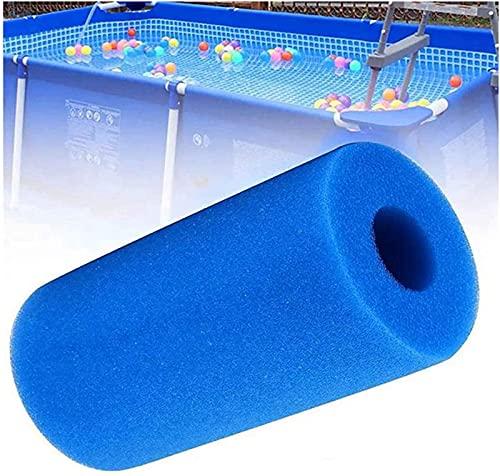 LIANHUAA Cartucho de filtro de esponja para piscina Intex tipo A, lavable, reutilizable, para piscina, acuario, bañera (2 unidades)
