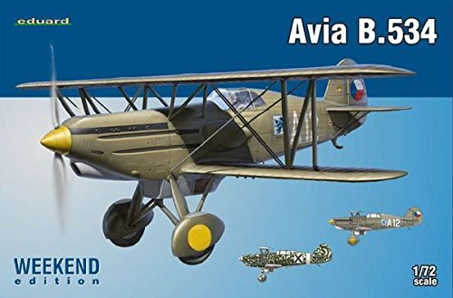 Eduard Plastic Kits 7428 - Maquette Avia B.534 IV série Weekend