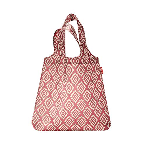 Reisenthel mini maxi shopper Borsa Messenger, 60 cm, 15 liters, Rosso (Diamonds Rouge)