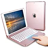 Touchpad iPad Keyboard Case 10.2/10.5 inch for iPad 8th 7th Generation, iPad Air 3rd Gen, iPad Pro 10.5', LAVO-TECH Wireless Bluetooth iPad Case with Keyboard Slim Full Protection Cover