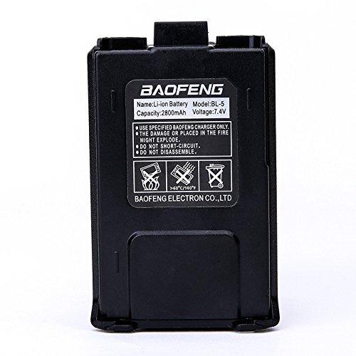 Baofeng Thick 2800mA Li-ion Battery for UV-5R UV-5RA UV-5RC UV-5RE Series TYT TH-F8 Ect. Two Way Radio