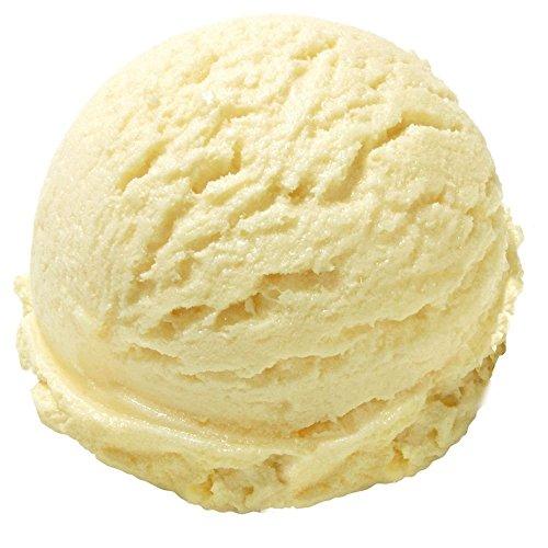 Vanille Geschmack Eispulver VEGAN - OHNE ZUCKER - LAKTOSEFREI - GLUTENFREI - FETTARM, auch für Diabetiker Milcheis Softeispulver Speiseeispulver Gino Gelati (Vanille, 1 kg)