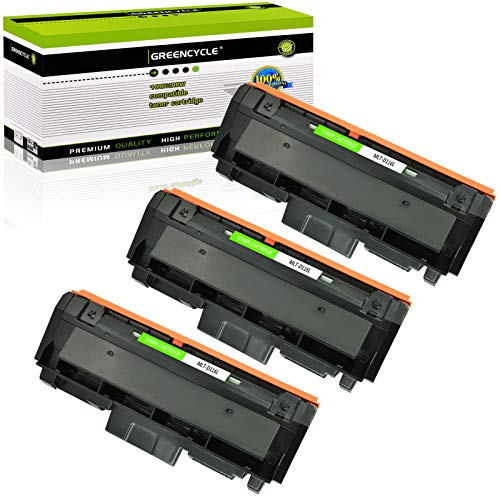 GREENCYCLE Compatible Toner Cartridge Replacement for Samsung 116L MLT-D116L MLTD116L D116L Use for Xpress SL-M2825DW SL-2835DW SL-2885FW SL-2875FD SL-2875FW SL-M2625D Printer (Black, 3-Pack)