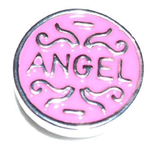1 Stück Chunk Druckknopf / Click Button- 20mm Durchmesser - Variante: Angel