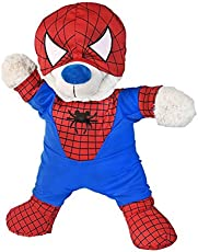 """Spidey Teddy outfit Teddy Bear Clothes Fits Most 14\\"""" - 18\\"""" Build-A-Bear and Make Your Own Stuffed Animals"""