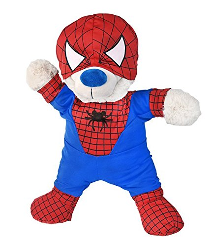 Costume de Spiderman Teddy Ours en Peluche Tenue (20,3 cm)