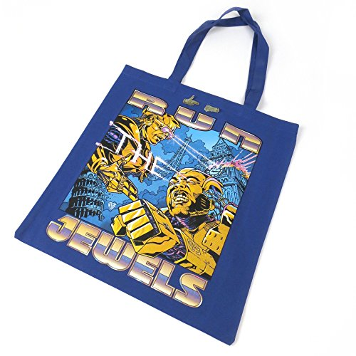 Run The Jewels Record Tote Bag And Gold Pin Set [Vinilo]
