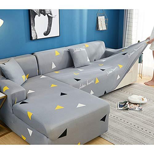 LLKK Funda de sofá elástica Funda de cojín de sofá Antideslizante Universal Universal de Tres Personas con Todo Incluido