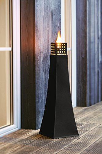 Große Öllampe aus Metall