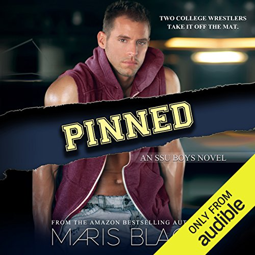 Pinned audiobook cover art