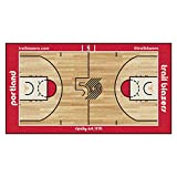 FANMATS NBA Portland Trail Blazers Nylon Face NBA Court Runner-Large