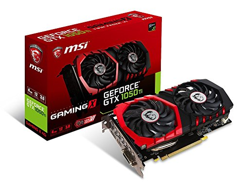 MSI GeForce GTX 1050 Ti GAMING X 4G グラフィックスボード VD6190
