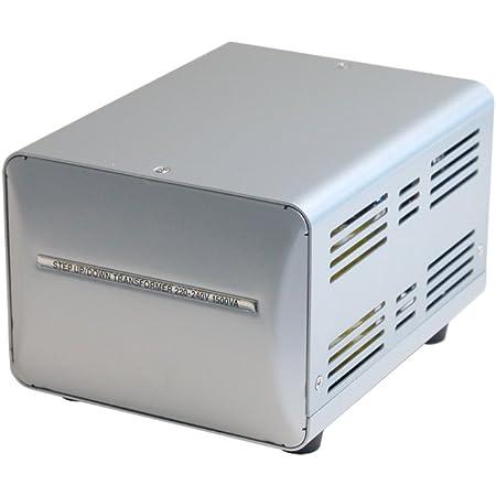 カシムラ 海外国内用 変圧器 AC 220V ~ 240V / 1500W 本体電源プラグ Aプラグ , 出力コンセント A ・ C 兼用タイプ Voltage Transformer NTI-20