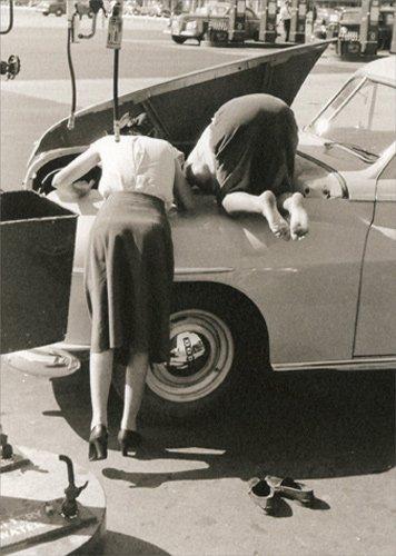 Female Mechanics - Avanti America Collection Funny Birthday Card