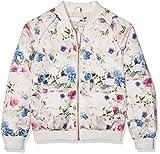 Name It Nitmacy Bomber Jacket NMT Blouson, Multicolore (Snow White), 128 Fille