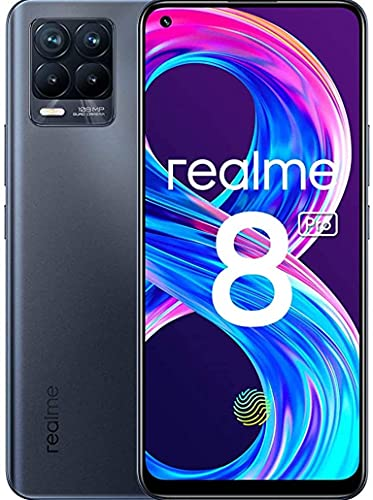 realme 8 Pro Smartphone Libre, Cámara cuádruple Ultra de 108 MP, Pantalla completa AMOLED superior de 6,4', Carga SuperDart de 50W, Batería de 4500 mAh, Dual Sim, 6+128GB,...