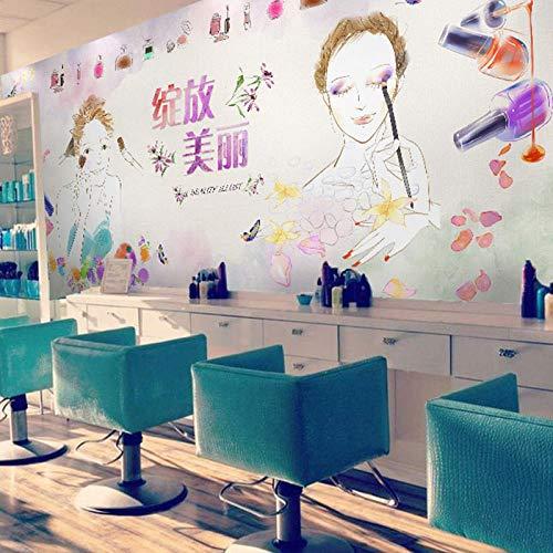 WLPBH Mural 3D Autoadhesivo Dream Makeup Store Romántico Cálido (W) 520X (H) 290Cm3D Photo Mural Niños Decoración De La Habitación De Los Niños Fondo Papel De Pared Niño Niña Dormitorio Decoració