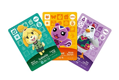 Animal Crossing Amiibo Cards Series 1 - 3