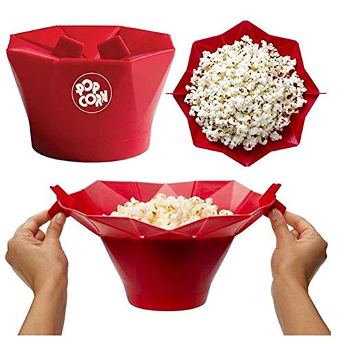 Best Design 2016 Microwave Silicone Popcorn Bowl Easy, Microwave Popcorn Poppers - Microwave Bowl, Microwave Cover, Silicone Microwave, Air Popcorn, Popcorn Maker, Hot Air, Microwave Bowls