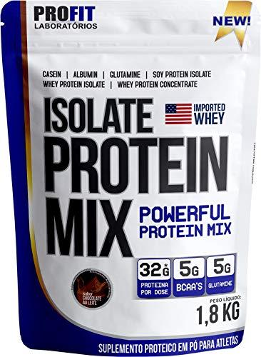 Isolate Protein Mix Chocolate Ao Leite 1, 814Kg, Profit