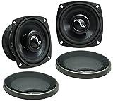 Harmony Audio HA-CMB8 Car Stereo Cabron Mid Bass Mid Range 8' Speakers 4 Ohm New