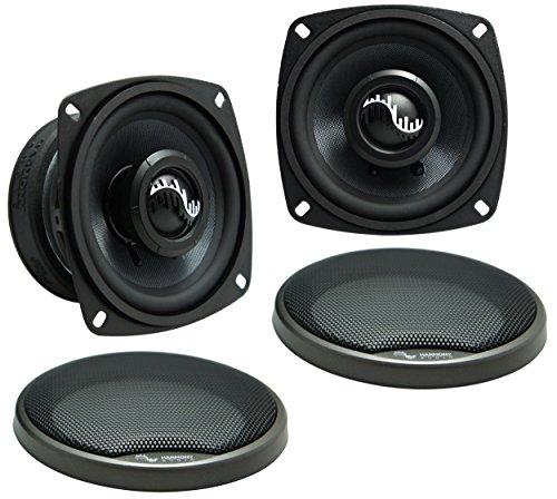 "Harmony Audio HC-CMB65 Car Stereo Cabron Mid Bass Mid Range 6.5"" Speakers 4 Ohm"
