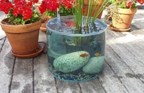 Garden Water Feature - Pop Up Pond Aquarium Pond Kit
