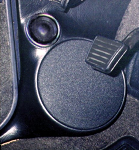 "Q-Logic Custom Kick Panel Speaker Mounts GMC Syclone & Typhoon/Olds Bravada (6.5"" Without Grill, 15 Dark Gray)"