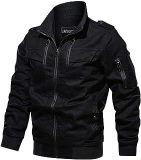 Xiang Ru Casual Coat Cargo Jackets Classic Outerwear for Men