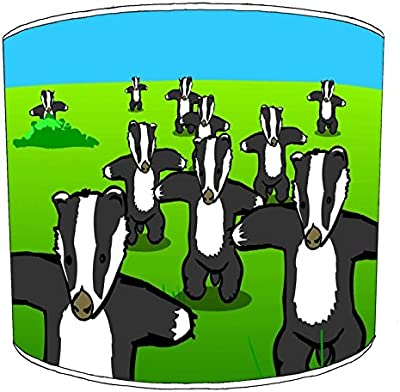 Premier Lighting 20cm Badgers Abat-jour1 pour Un plafonnier
