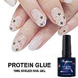 Frenshion 10ML Chiaro Colore Della Proteina Lattiginosa UV LED Soak Off Gel Smalto per unghie...